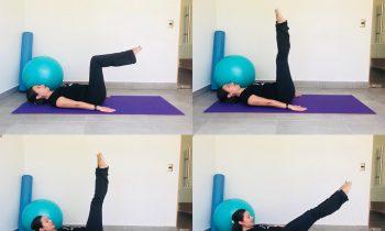 Pilates: ejercicio The Hundred