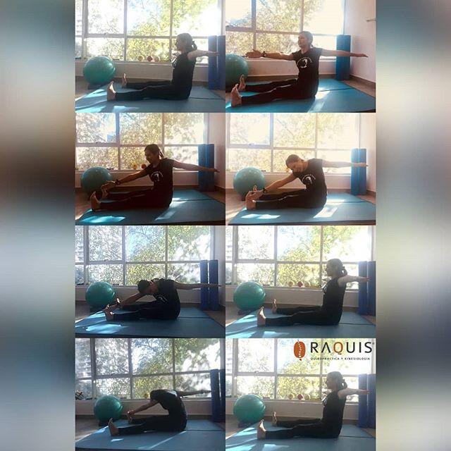 Pilates: ejercicio Saw