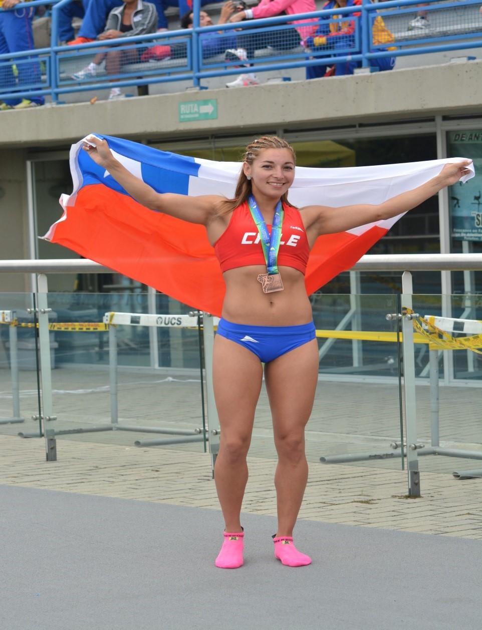 Deportista Auspiciada Evelyn Ortiz