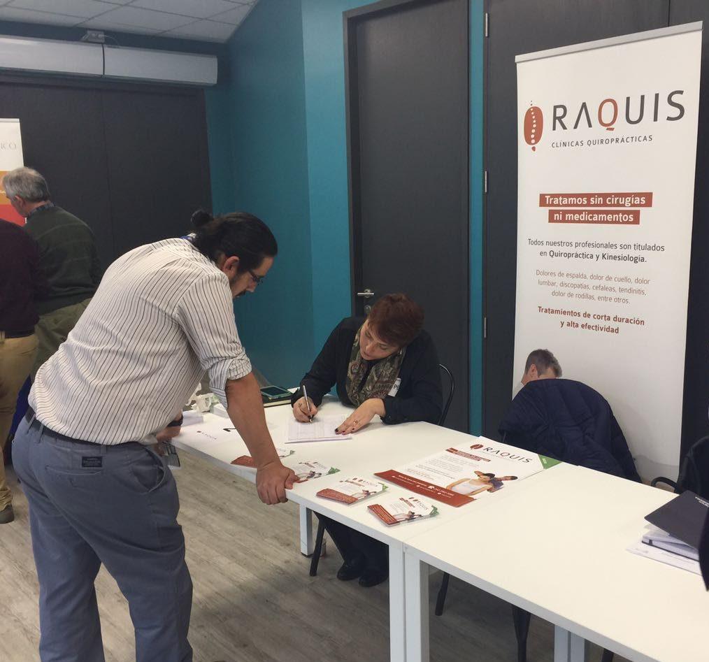 Exitosa participación de Raquis en Feria Coasin