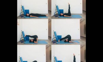 Pilates: ejercicio Roll Over