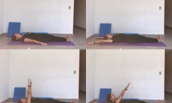 Pilates: ejercicio Roll Up