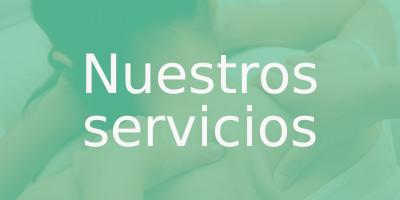 botón rectangular nuestros servicios